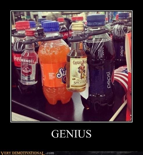 booze,soda,genius