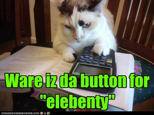 elebenty,calculator,Cats,math