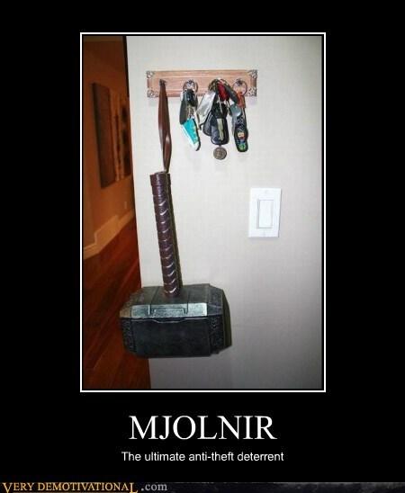 keys Thor hammer mjolnir - 6977578496