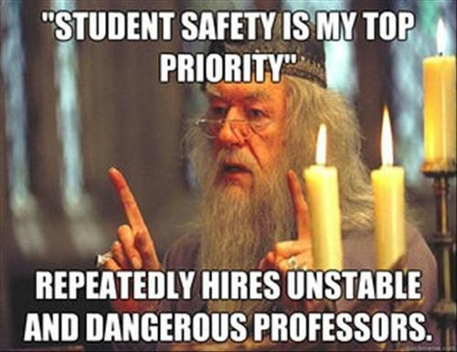Harry Potter students dumbledore safety - 6977790208