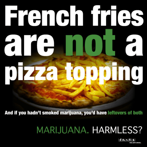 pizza topping marijuana diabetes french fries harmless - 6977797632