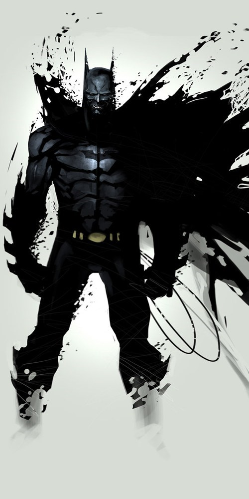 art awesome angry batman - 6977842176