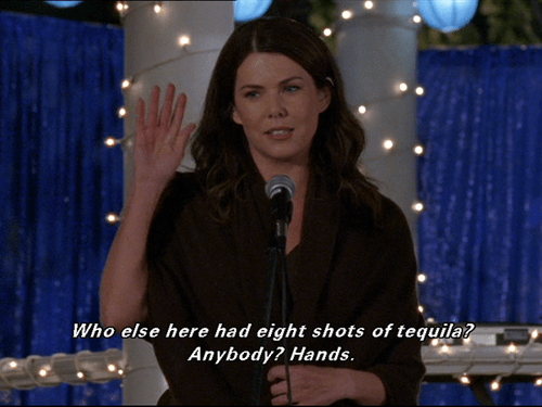 shots Gilmore Girls tequila lorelei - 6977865216