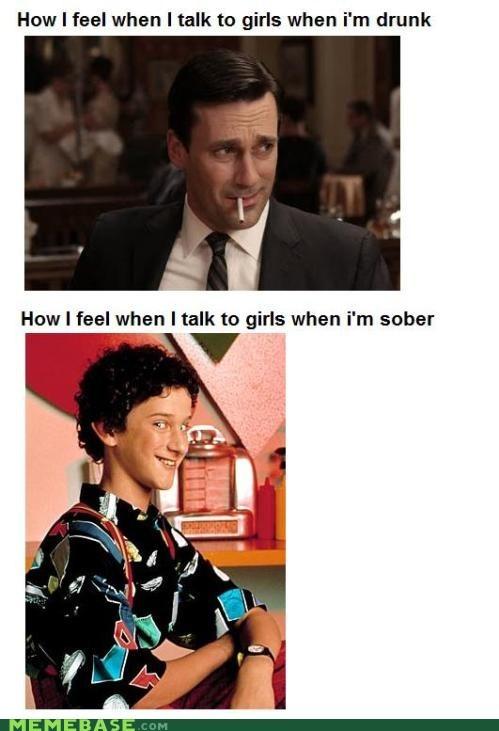 sober drinking flirting booze Awkward relationships - 6977868032