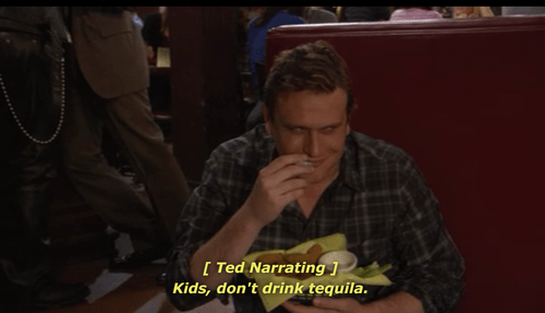 narrating tequila how i med your mother TED - 6977877760