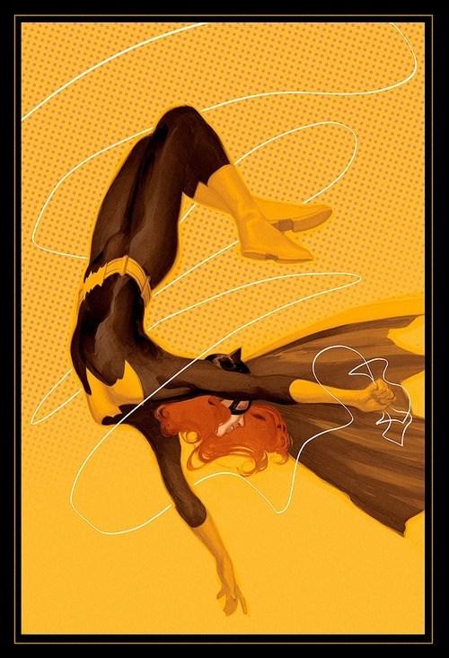 fun art cute batgirl - 6977899008