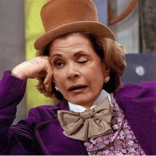 shoop jessica walters actor condescending wonka face swap arrested development funny gene wilder - 6977930752