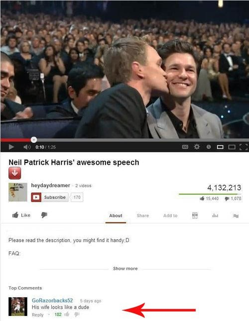 youtube actor Neil Patrick Harris funny - 6977950208