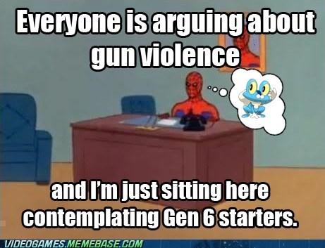 video game violence gen VI Pokémon Memes - 6978018816