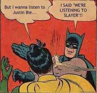 robin slap batman slayer justin bieber - 6978097664