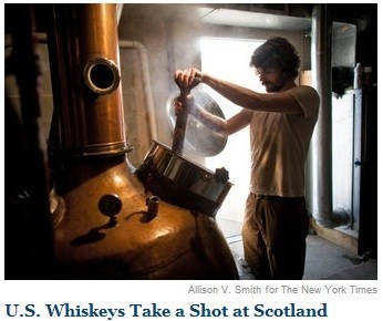 news whiskey headline scotland new york times double meaning shot