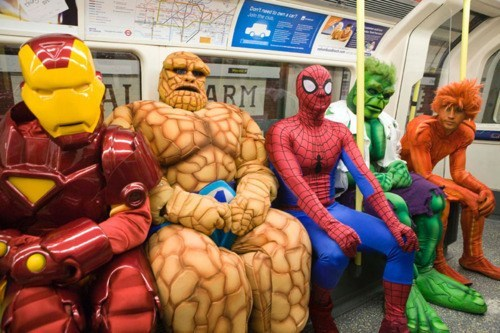 cosplay,The Avengers,Subway