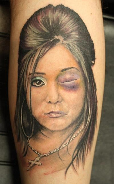 jersey shore snooki black eye