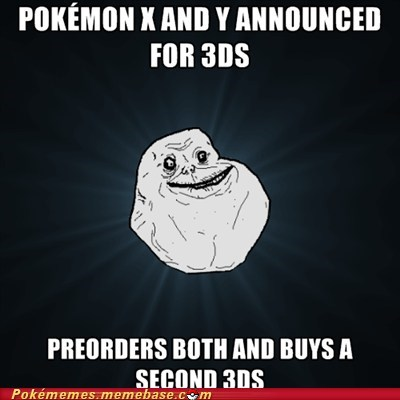 forever alone 3DS Memes losersss - 6978413056