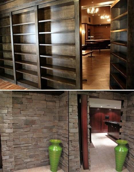 bookshelf design room hidden - 6978508288