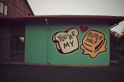 Street Art pun cute graffiti - 6978648576