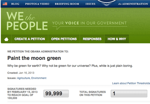 green,moon,universe,petition,earth