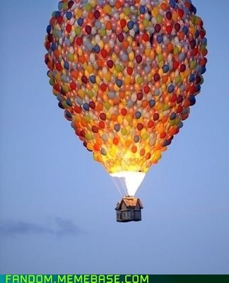 disney,up,Hot Air Balloon,movies,pixar