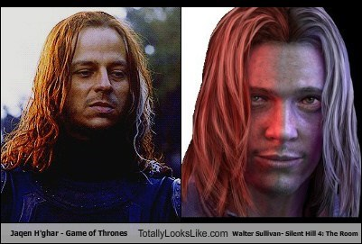 Jaqen H Ghar Game Of Thrones Totally Looks Like Walter Sullivan