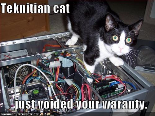 computer lolcats oops technician warranty wire - 697959168