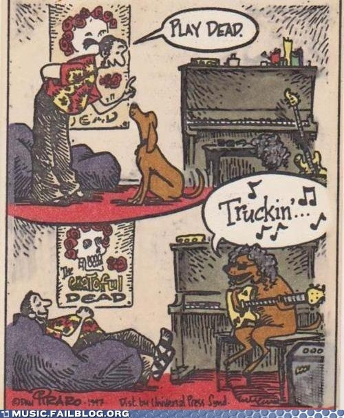 dogs the grateful dead comics puns - 6979779840