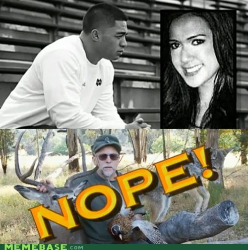 catfished,Chuck Testa,hoax,girlfriend,manti te'o