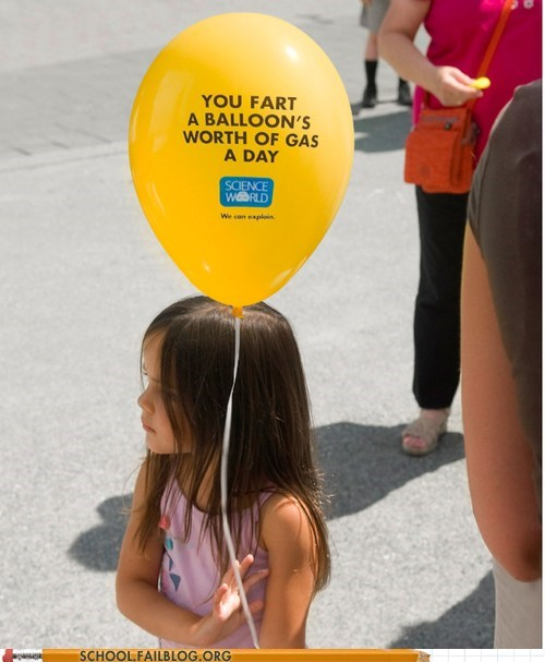 fact,gas,science,balloon,fart