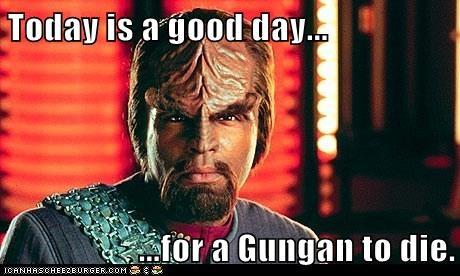 star wars Michael Dorn gungans Worf die the next generation Star Trek klingon - 6980232448