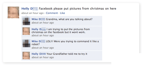 photos,grandma,facebook,g rated,Parenting FAILS