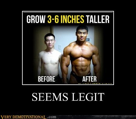 height tall muscles seems legit