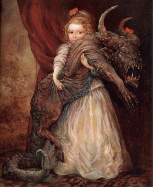 creepy,demon,pet