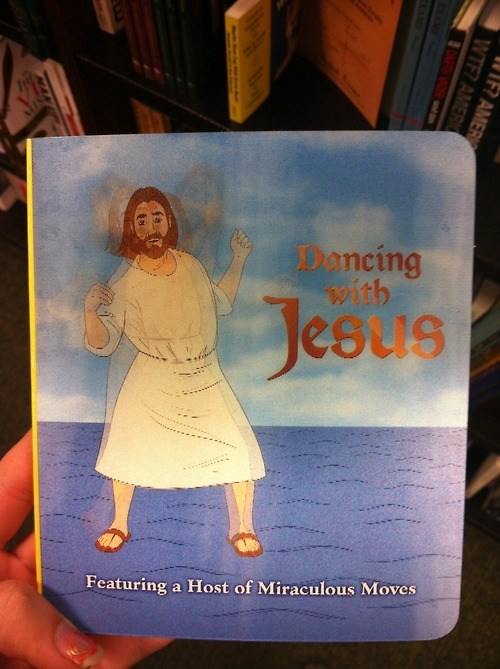 jesus,dancing,book