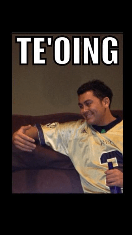 notre dame te'oing te'o football dating fails g rated - 6980803328
