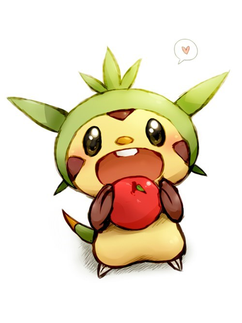 art,hnnnng,chespin,cute