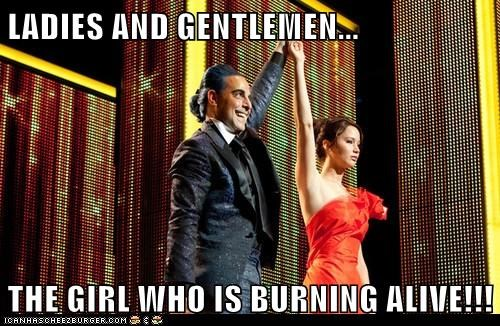 the girl on fire,announcing,jennifer lawrence,hunger games,cesar,katniss everdeen