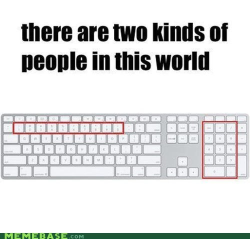computers,num pad,two kinds of people