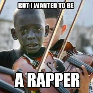 tears,violin,rapper
