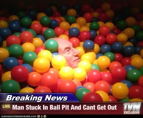 Breaking News - Man Stuck In Ball Pit And Cant Get Out