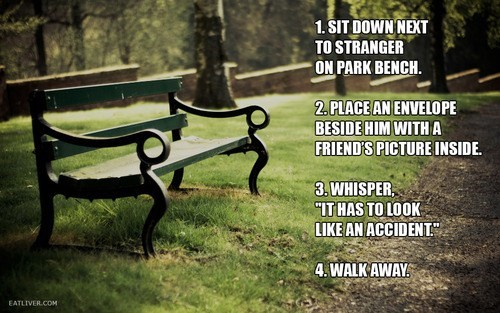 accident,friends,bench