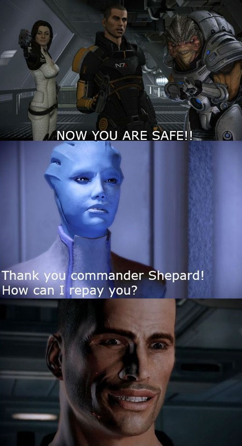 safe,mass effect,come here