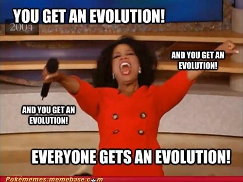 evolution Memes oprah - 6981294080