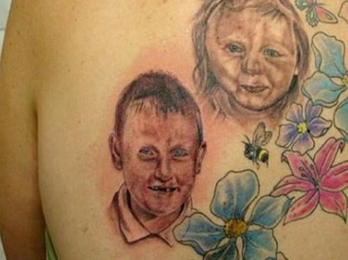 flowers back tattoos portrait tattoos - 6981507840