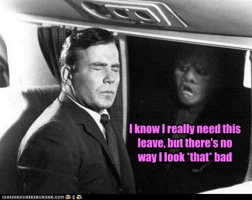 bad The Twilight Zone gremlin William Shatner leave - 6981600512