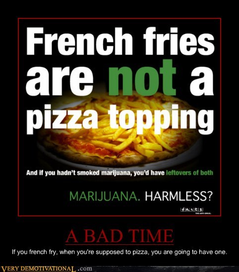 ski lessons French Fry pizza bad time