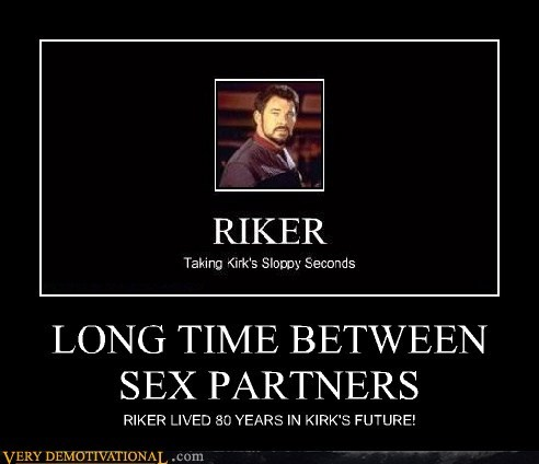 Captain Kirk,Riker,future,Star Trek
