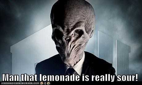 Man that lemonade is really sour!