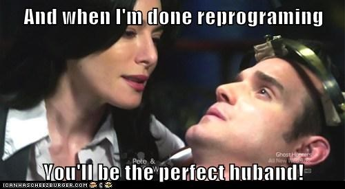 pete lattimer scary reprogram warehouse 13 artifacts HG Wells eddie mcclintock husband jaime murray - 6982139136