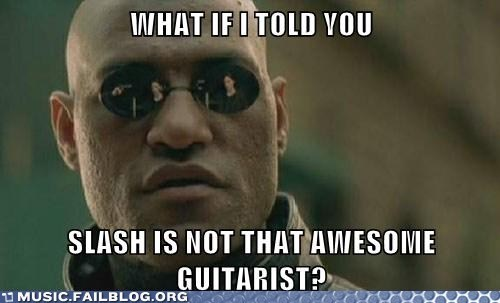 slash guitars morpheus meme