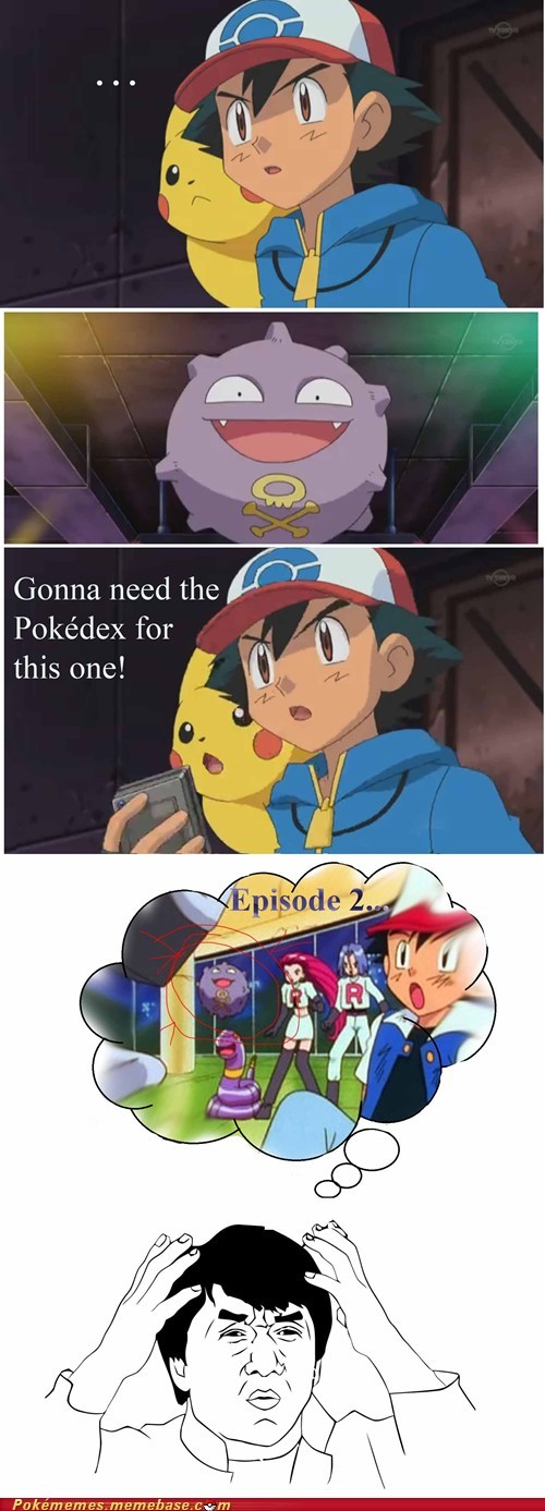 ash pokedex anime anime logic idiot - 6982221568