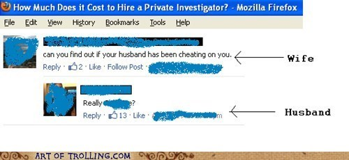 cover your tracks,wife,facebook,cheating